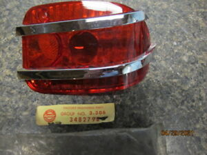 1963 Rambler Ambassador & Classic SW NOS RH Tail Light Lens Brand New American