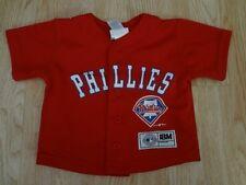 Infant/Baby Philadelphia Phillies 18 Mo Genuine Merchandise Jersey