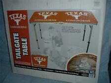 """LONGHORNS Tailgate Beer Pong Table TEXAS UT Party Picnic Camping 46"""" NCAA NEW"""