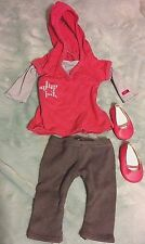AMERICAN GIRL- My AG Truly Me Star Hoodie Outfit, 4Pcs. Including Shoes- RETIRED