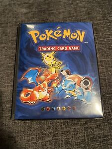 POKEMON TRADING CARD GAME FOLDER (WITH CARDS INSIDE)