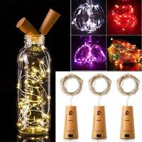 10/15/20 LED Cork Lights on a String Bottle Stopper Lamp Light Wedding Events