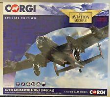 Archivo de aviación Corgi 1/72 Avro Lancaster B Mk.1 (especial) Noruega 1945 AA32618