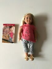"AMERICAN GIRL ISABELLE'S  2-Book Set /& Mini Doll 6/"" New in Box 2014 Rare"
