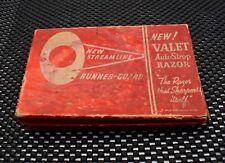 Vintage Valet AutoStrop Single Edge Safety Razor and Cardboard Case
