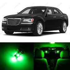 13 x Green LED Interior Light Package For 2011- 2014 Chrysler 300 300C
