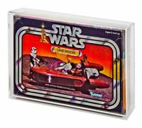 Acrylic Display Case - Boxed Vintage Star Wars Land Speeder (GW Acrylic AVC-004)