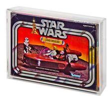 Acrylic Display Case - Boxed Vintage Star Wars Land Speeder (GW Acrylic AVC-004)