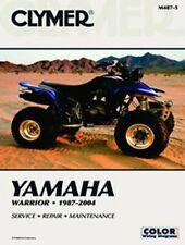 1987 Yamaha YFM350XT Warrior ATV Assembly Manual