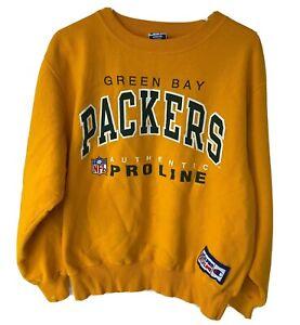 Vintage Green Bay Packers NFL Champion Pro Line 1996 Crewneck Sweatshirt Medium