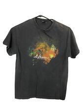 Vintage Deftones Saturday Night Wrist Shirt Giant Tag Large Band Concert Rock
