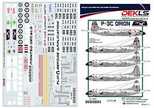 Decals P3C Orion Australian Air Force - 11SQN (+others) circa80s/90s 1/144 Scale