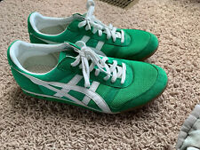 ASICS Onitsuka Tiger Mens Sz 10.5 Green White Sneakers HN201 Ultimate 81 Shoes