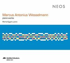 Moritz Eggert - Marcus Antonius Wesselmann Piano Works [CD]