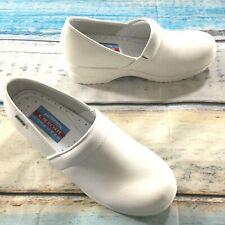 Cherokee Womens Shoes size 8 new White Nurse Hospital Harmony-W Leather Cushion