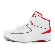 Nike Air Jordan 2 Retro [385475-102] Basketball White/Black-Red-Grey
