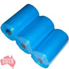 1600 X Dog Poo Puppy Poop Litter Waste Sanitary Disposal Bags (blue) 80 Rolls