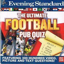 Ultimate FOOTBALL PUB Quiz: PC/MAC-PROMO CD-ROM jeu vidéo - 300 questions