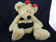 "Russ Berrie & Co Breezy Plush Bumble Bee Teddy Bear 20 ""  Large"
