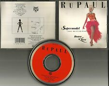 RUPAUL Supermodel / House of love 7TRX MIXES & DUB 7 & 12 INCH USA CD single