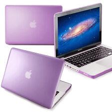 "ft Macbook Pro 15"" Retina A1398(Purple-Matte)Soft Touch Rubber Hard Case shell"