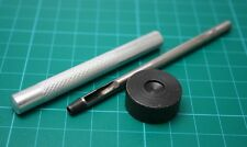 New Hand Metal Snap buckle leather punch riveting process setup tool 8MM