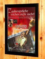 2000 Crusaders of Might and Magic Old Small Poster / Vintage Ad Page Framed PS1