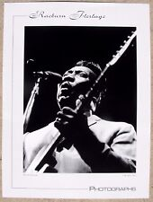 MUDDY WATERS BLUES POSTER 1963 Raeburn Flerlage photo Chicago 18x24 MINT