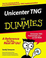 NEW Unicenter TNG For Dummies by Sandy Sampson