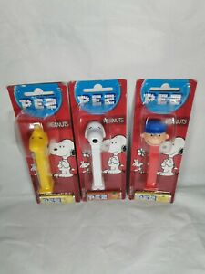 PEZ Peanuts Snoopy Charlie Brown Sweet Dispensers Classic Retro New Sealed