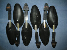 (QTY 6) VINTAGE MENS FLORSHEIM SHOE TREES STRETCHERS BLACK PLASTIC USED