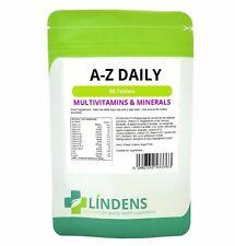 Multivitamin A-z Daily Family General Health Multi Vitamin 90 -Tablets