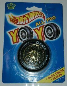 1990 RARE VINTAGE NEW SEALED HOT WHEELS ALL PRO YO-YO TIRE MATTEL YO YO