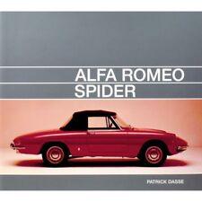 ALFA ROMEO SPIDER - LIVRE NEUF