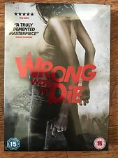 Wrong Way to Die DVD 2012 aka Monika Revenge Thriller Movie w/ Ltd Ed Slipcover