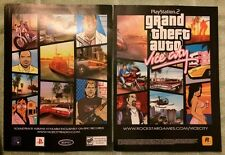 Grand Theft Auto Vice City Poster Ad Print Playstation 2