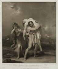 James GODBY (1790-1815), nach H. SINGLETON (1766), Adam und Abel, 1799, Pkt.
