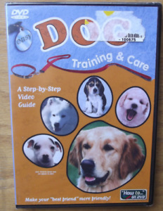 Easy Dog Training and Care (DVD) - **DISC ONLY** (no case)