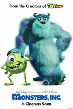 Monsters Inc. (2001) Original 27 X 40 Theatrical Movie Poster