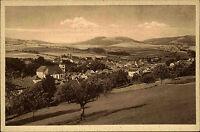 Gersfeld Hessen AK ~1920/30 Rhön Panorama Dorfansicht Verlag Bauer ungelaufen