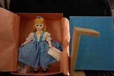 "1976 Madame Alexander Amy Doll-1220-Little Women-MIB-12"",Blue Dress -LOVELY-SALE"