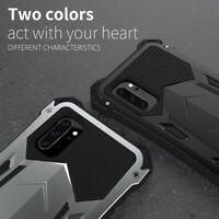 For Samsung Note 10 Plus R-Just Shockproof Aluminum Hard Armor Metal Case Cover
