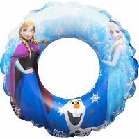 SAMBRO Disney Frozen Rubber Swim Ring Kids Swimming Beach Toy Inflatable