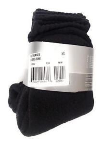 Nike Youth Unisex 3 Pack Socks EU: 27-30 UK: 9-11.5 XS Black 590932 010