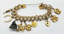 Gold-filled Charm Bracelet with Charms LB821