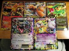 LP/NM Pokemon JUMBO/OVERSIZED Card EX Lot#A Charizard+Dragonite+Rayquaza+Mewtwo