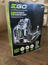 NEW! EGO 145 MPH 600 CFM 56V Lithium LB6002 Cordless Backpack Blower