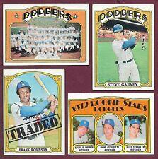 1972 Topps Los Angeles Dodgers Team Set Garvey Wilhelm Alston Russell Wills (31)