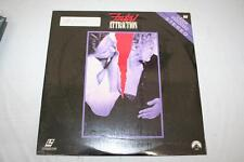 Fatal Attraction Laserdisc Michael Douglas Glenn Close Ann Archer New in Plastic