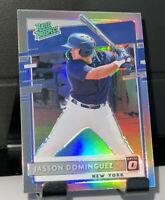 2020 Donruss Optic Jasson Dominguez Rated Prospect Silver Holo Prizm Rookie MINT